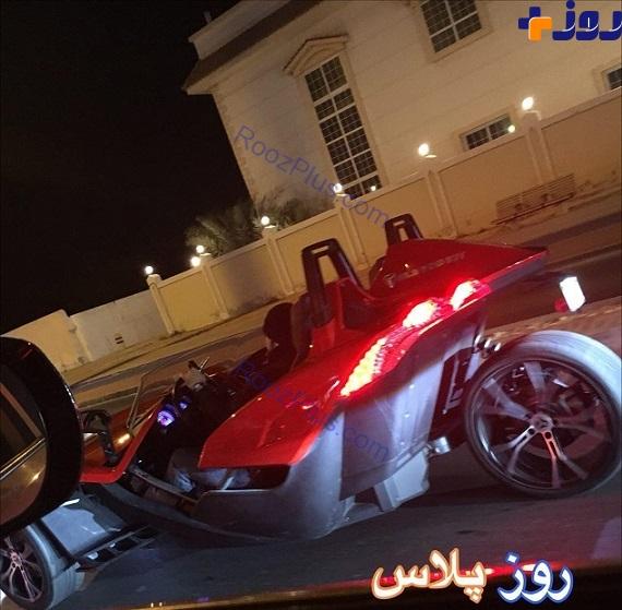 مدل جدید ماشین بچه پول دارهای امارات /عکس
