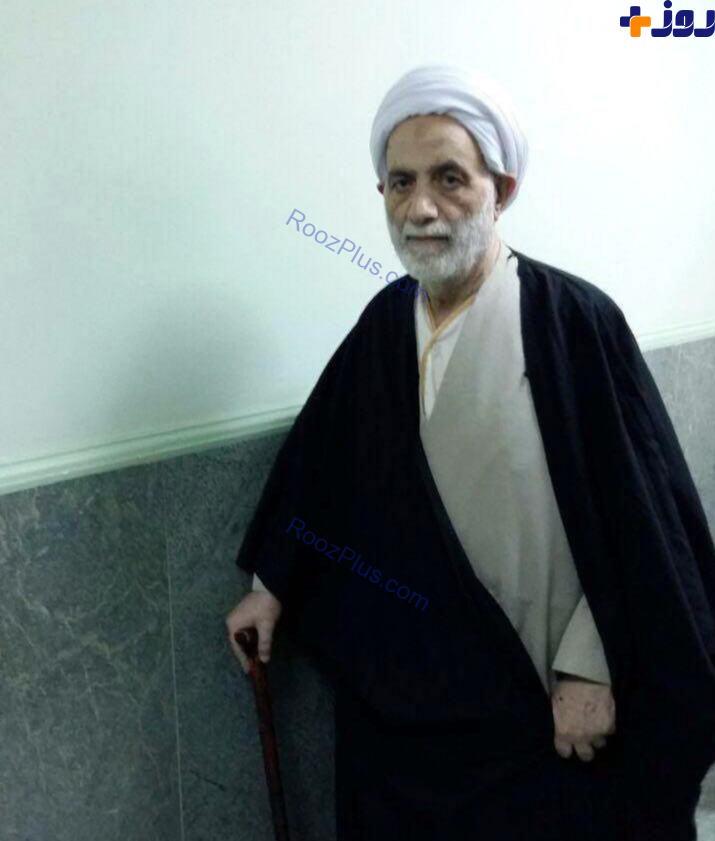 حجت الاسلام محسن قرائتی از بیمارستان مرخص شد +عکس
