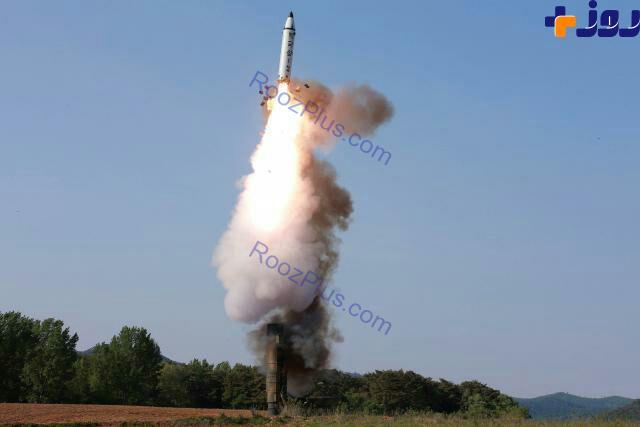 اولین تصویر از آزمایش موفق موشک کره شمالی