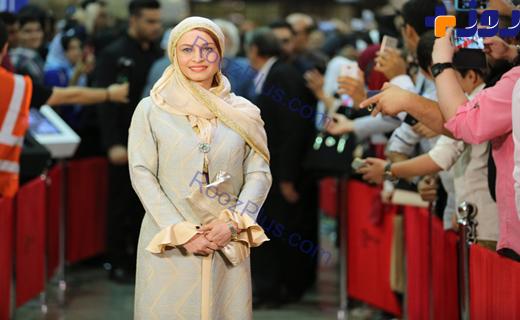 گزارش تصویری از پوشش هنرمندان در هفدهمین جشن حافظ