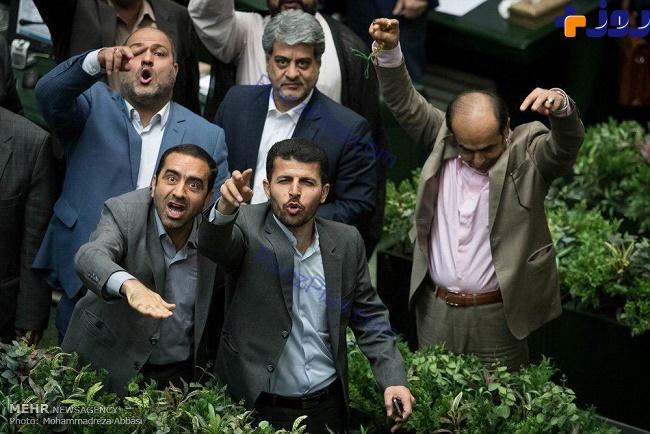 حال عجیب و جالب نمایندگان بعد از رای اعتماد به وزرا
