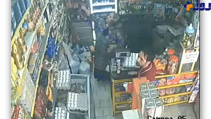 حمله وحشیانه به فروشنده زن سوپر مارکت در تهران+عکس