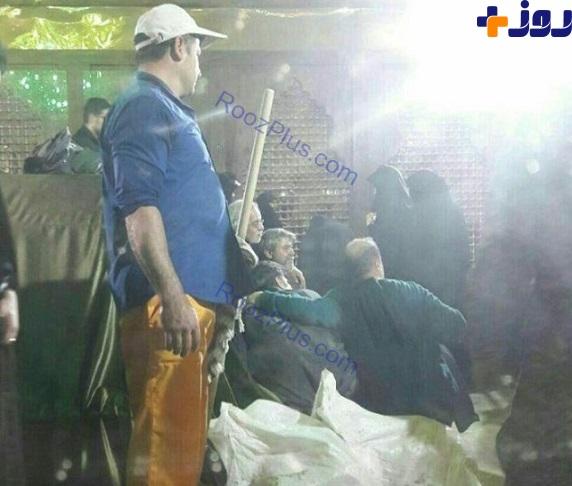 حرکت زشت چند مرد کنار مزار مرحوم هاشمی رفسنجانی +عکس