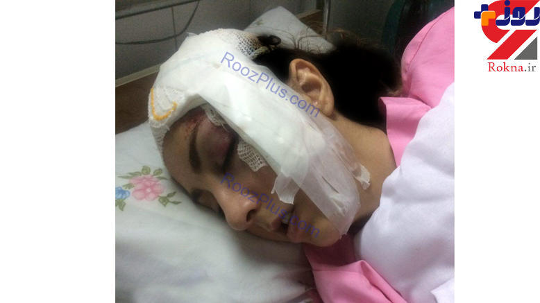 سقوط دختر دانشجو میهمانداری هواپیما از سرسره نجات در اصفهان+عکس