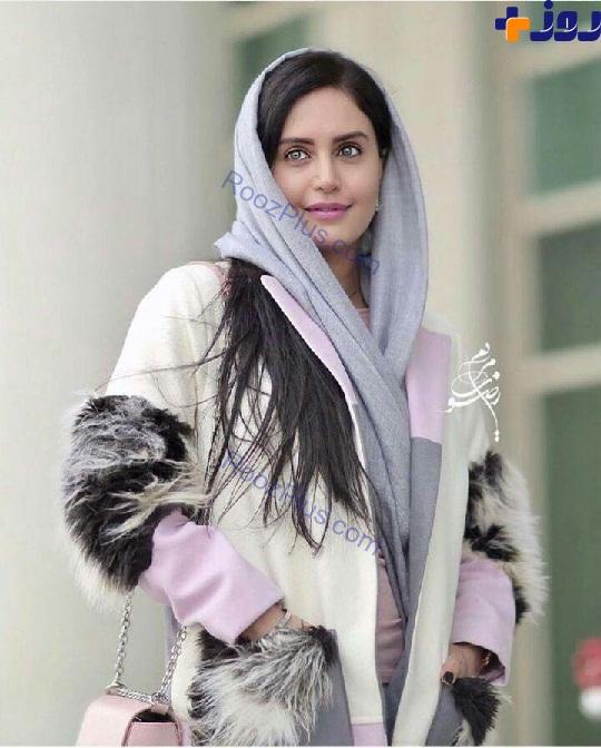 لباس عجيب الناز شاکر دوست در جشنواره فجر