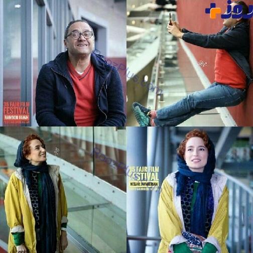 عکس رامبد جوان و همسرش در جشنواره فجر