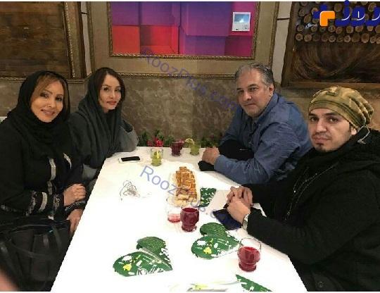 اولین ایرباس 330 تحویلی ایران گروهی از بازیگران زن و مرد مشهور در یک رستوران زیبا + عکس