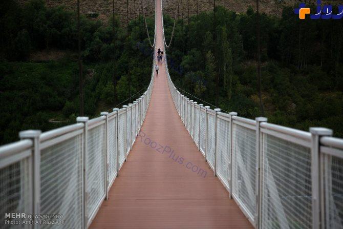 ترسناکترین پل معلق خاورمیانه در ایران+تصاویر
