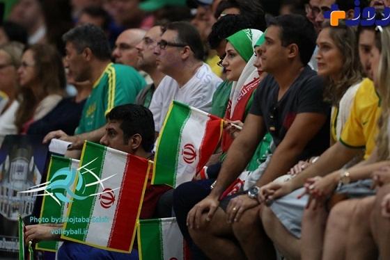 پوشش جالب تماشاگران زن ایرانی در المپیک ریو + تصاویر