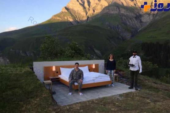 هتلی بدون سقف و دیوار+ عکس