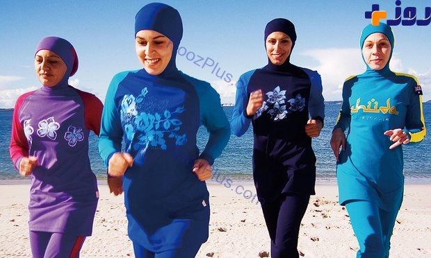 شنای زنان با مایوی اسلامی ممنوع است اما 24 دقیقه کیمیا علیزاده لنگ در هوا شرعی است