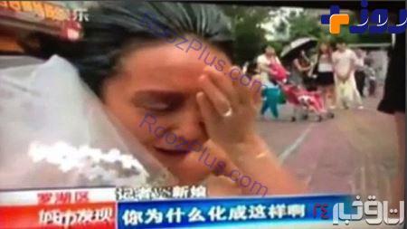 دامادی که بخاطر چهره عروس خودکشی کرد +تصاویر