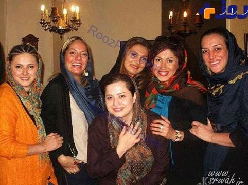 دورهمی تعدادی از بازیگران زن ایرانی+عکس