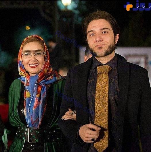 پوشش متفاوت کتایون ریاحی و پسرش در جشن سینمایی +عکس