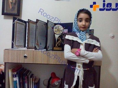 دختربچه فرا نخبه ایرانی!