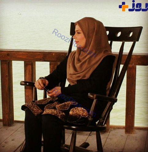 مجری زن معروف پس از جدایی از همسرش+ عکس