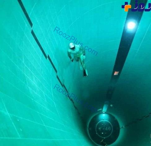 عمیق ترین استخر جهان با 42 متر عمق! +عکس