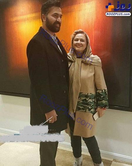 تغییرات ظاهری عجیب بهاره رهنما در کنار همسرش در کنسرت+عکس