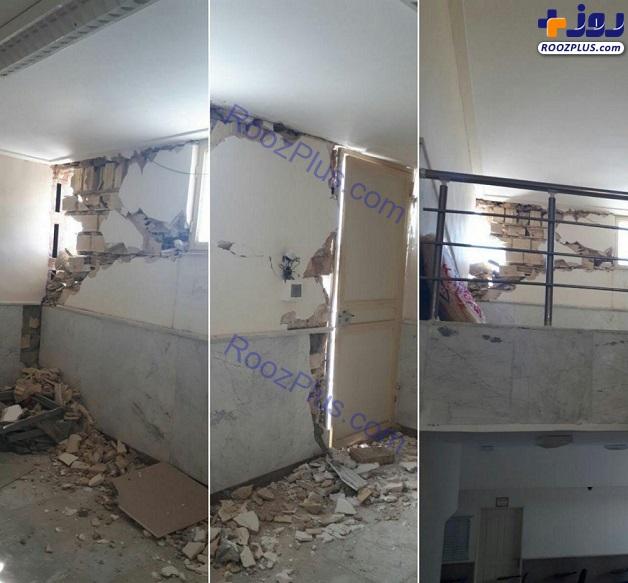 خسارت های ناشی از <a class='no-color' href='http://newsfa.ir/'> وقوع زلزله </a> در سومار +تصاویر