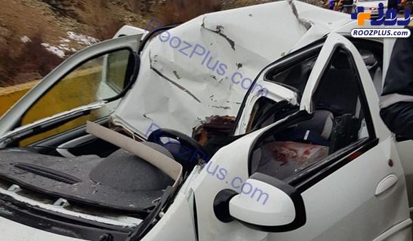 ریزش کوه در فشم منجر به کشته و زخمی شدن 2 نفر شد +تصاویر