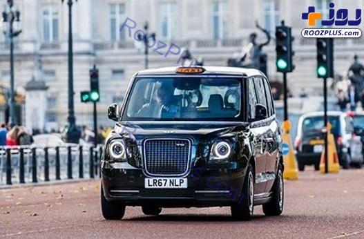 اولین تاکسی برقی مجهز به وای فای ! + عکس ها