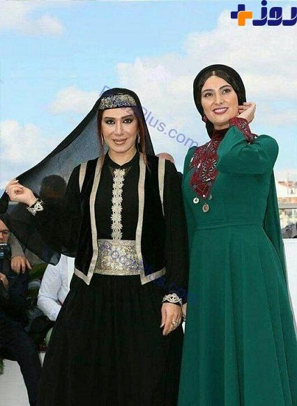 تصویر اب  زن لباس های عجیب بازیگران زن در جشنواره فیلم کن + عکس