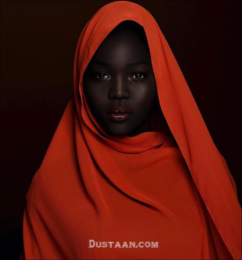 دختری با زیبایی عجیب که به ملکه تاریکی معروف شده است! +عکس