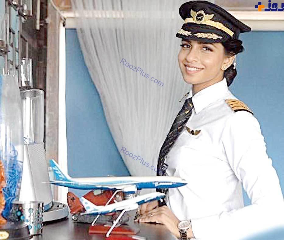 عکس/ جوانترین زن خلبان بوئینگ چه کسی است؟