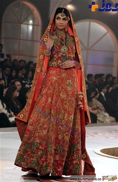 تصاويري از زنان مدل پاكستاني در هفته مد لاهور