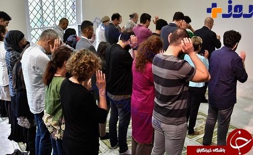 پشت پرده مسجدي كه در آن زنان و مردان بي حجاب با هم نماز ميخوانند+تصاوير