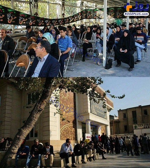 صف مردم تهران برای اهدای خون به زلزلهزدگان + عکس
