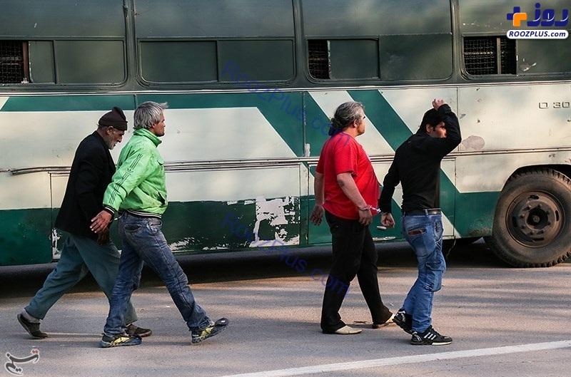 اجرای طرح رعد 5 پلیس پیشگیری تهران بزرگ +تصاویر