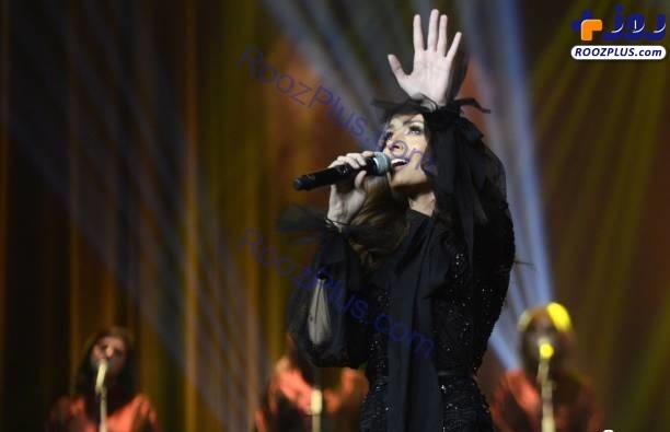 اولین کنسرت یک خواننده زن عربستان+عکس