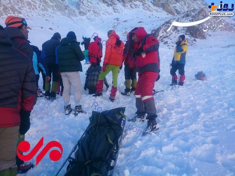 ع /پیدا شدن جسد دومین کوهنورد مشهدی مانده در برف
