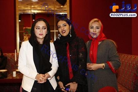 تصاوير/شوی جواهرات علي دايي و همسرش در كنار نيكي كريمي