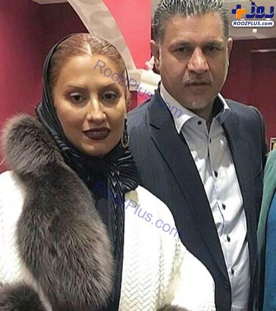 جدیدترین عکس های پاییزی علی دایی و همسرش