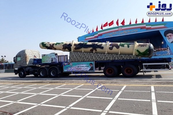 عکس/ رونمایی از جدیدترین موشک ایران