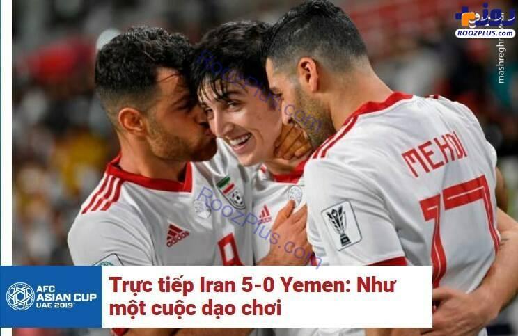 عکس/ واکنش جالب رسانه ویتنامی به پیروزی ایران برابر یمن