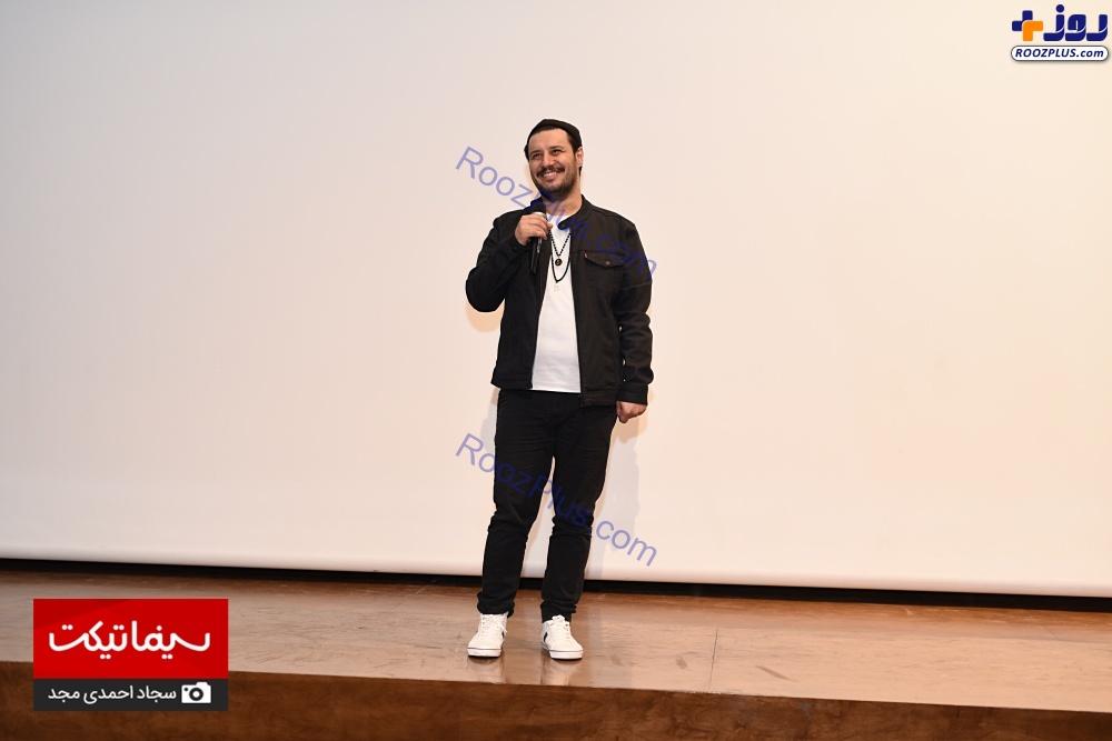 جواد عزتی در اکران مردمی فیلم سینمایی «چهارانگشت» +عکس