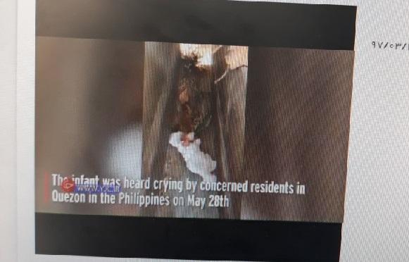 پیدا شدن نوزاد 2 ماهه در قبرستان!+عکس