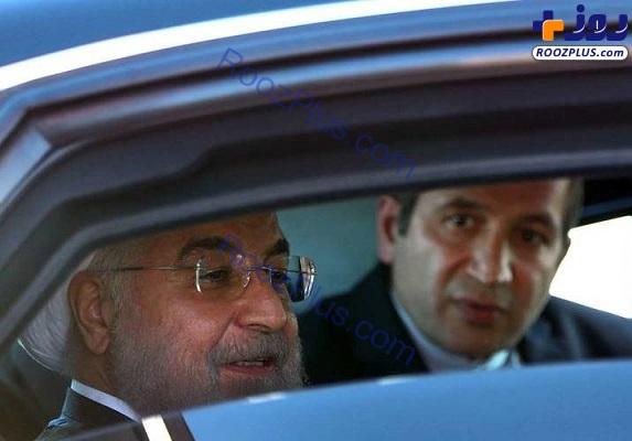 خودروی تشریفاتی حسن روحانی+عکس