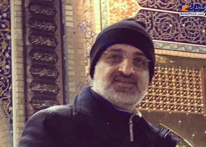 تشرف محمد اصفهانی به مشهد الرضا +عکس