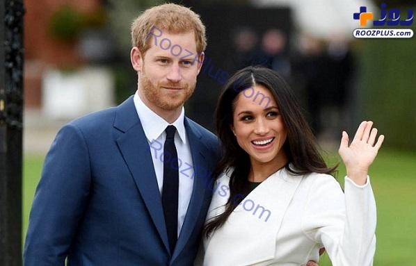 عکس/ خطری که از بیخ گوش شاهزاده هری و همسرش گذشت