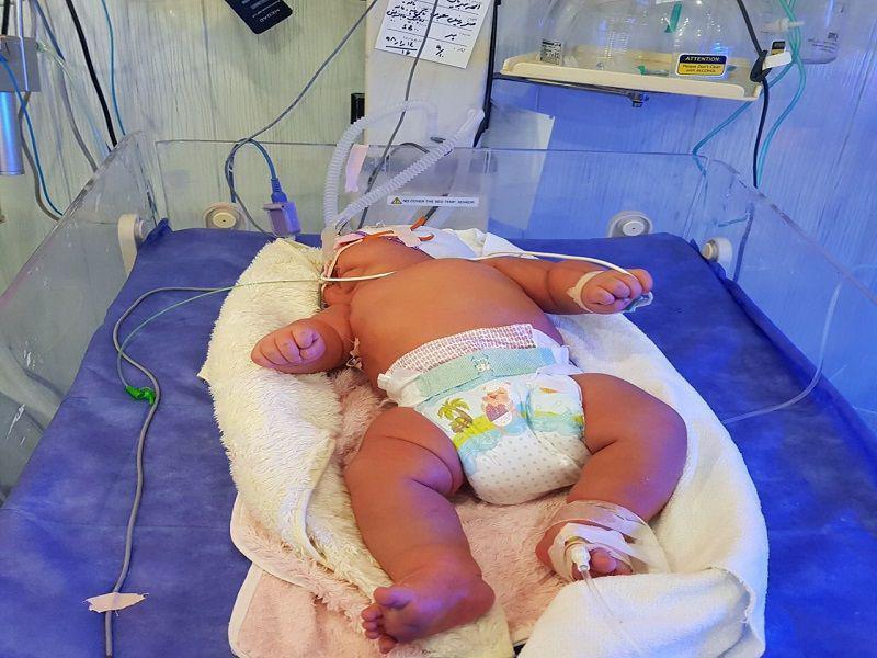 تولد سنگین وزن ترین نوزاد ایران +عکس