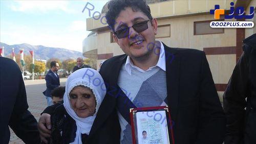 به هم پیوستن دوباره یک مادر و پسر پس از 31 سال جدایی! +عکس