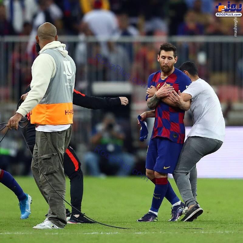 عکس/وحشت مسی از حمله جیمی جامپ سعودی