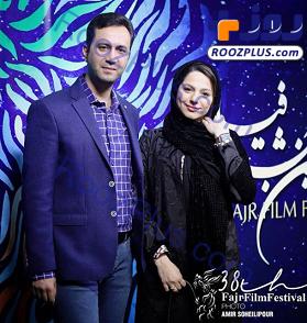 محیا اسناوندی» و همسرش در جشنواره فیلم فجر +عکس