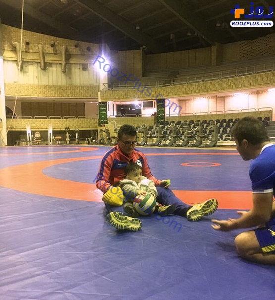 اولین حضور فرزند محمد بنا در اردوی تیم ملی +عکس