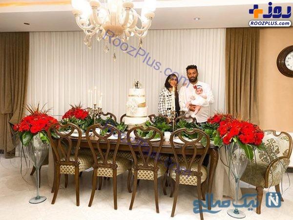 عکس حنیف عمرانزاده در سالگرد ازدواجش