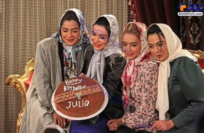 تم دهه شصتی بازیگران زن در شام ایرانی +عکس